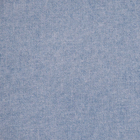 Sample of Robert Kaufman Light Blue Chambray