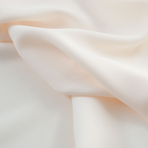 Sample of Sibylle Ivory Poly Crepe