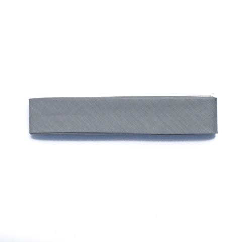25mm-Wide Grey Single-Fold Bias Binding