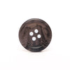 20mm Dark Grey/Black Marbled Buttons