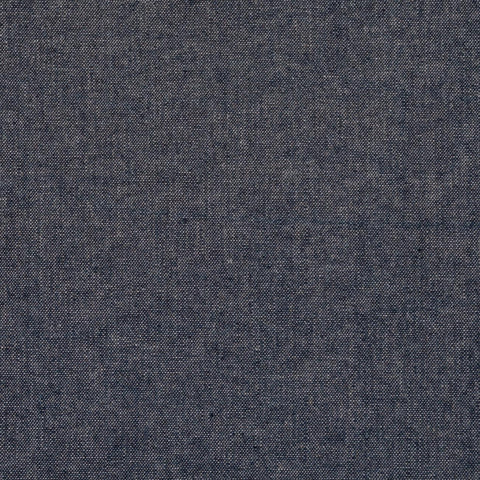 Sample of Robert Kaufman Navy Chambray
