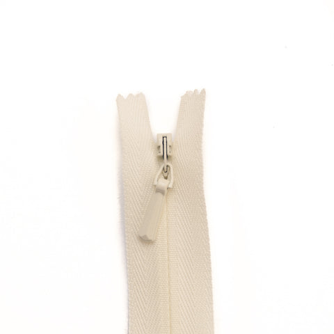 YKK Concealed Zippers - Colour 502 (Cream)