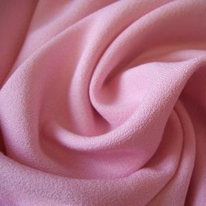 Isobel Pink Poly-Viscose Crepe