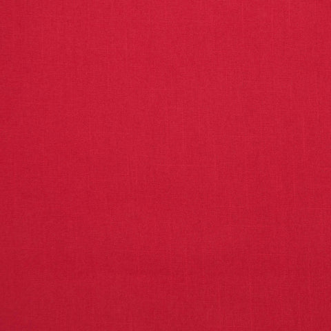 Red Linen-Look Cotton