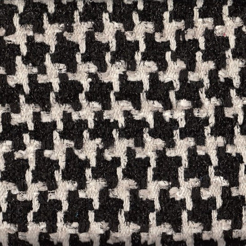 Aubrey Black and White Tweed