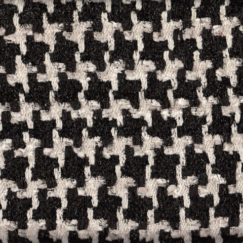 Sample of Aubrey Black and White Tweed