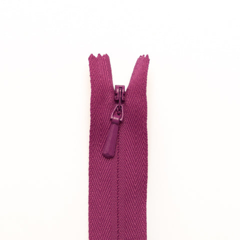 YKK Concealed Zippers - Colour 299 (Dark Fuchsia)