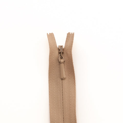 YKK Concealed Zippers - Colour 573 (Beige)