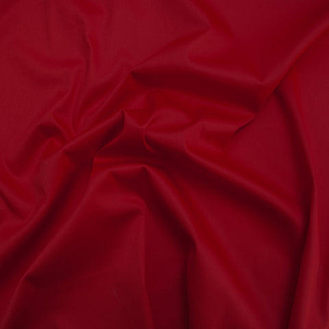 Sample of Leonore Red Sateen