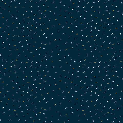 Sample of Atelier Brunette Sparkle Midnight Blue Cotton Batiste