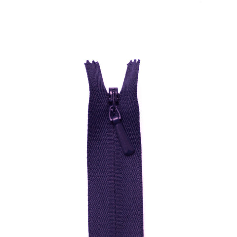 YKK Concealed Zippers - Colour 866 (Purple)