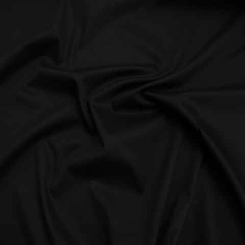 Leonore Black Sateen