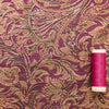 Pink and Gold Brocade