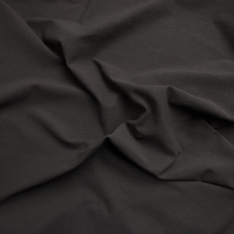 Sample of Black Cotton Jersey