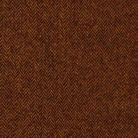 Murray Brown Herringbone Wool Tweed - 80 cm Remnant (Small Flaw)