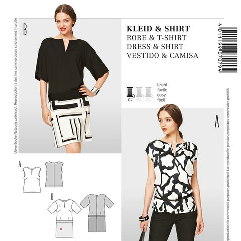 Burda 7079 Dress and Top
