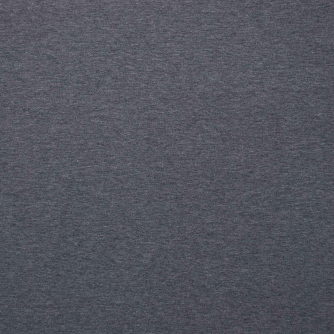 Sample of Matilde Dark Mottled Grey Light Sweatshirting