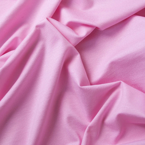 Aurele Light Pink Viscose Jersey