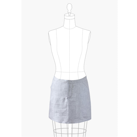 Grainline Studio Moss Skirt