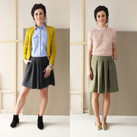 Liesl + Co. Soho Shorts and Skirt