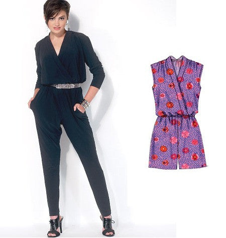 McCall's 7099 Knit Jumpsuit and Romper