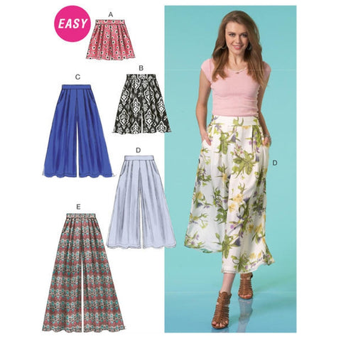 McCall's 7131 Culottes