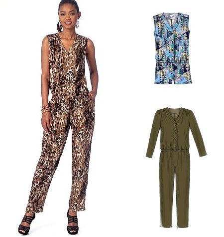 McCall's 7203 Jumpsuit and Romper