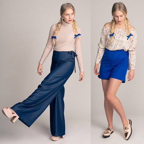 Named Astrid Wrap Trousers and Shorts
