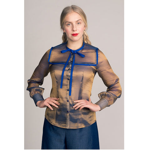 Named Madeleine Bow Tie Blouse