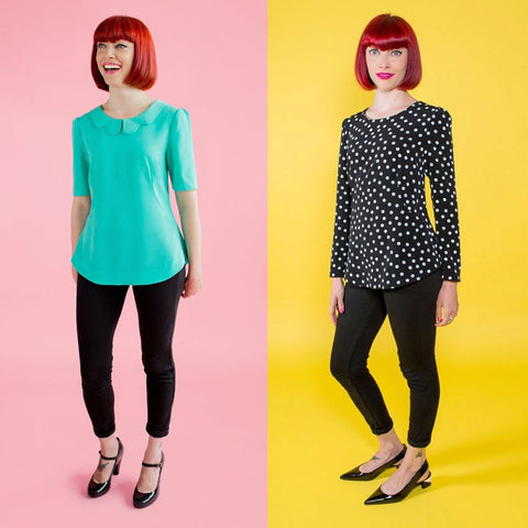 Tilly and the Buttons Orla Blouse