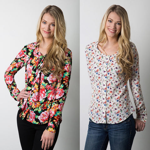 Sewaholic Oakridge Blouse