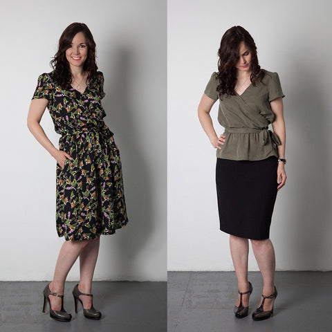Sewaholic Yaletown Dress and Blouse
