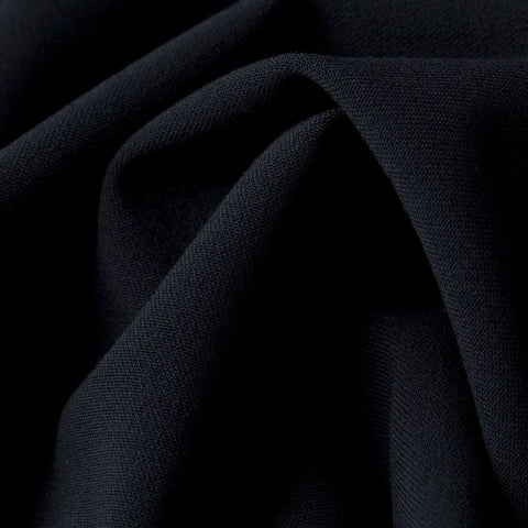 Eva Navy Poly-Viscose Suiting - 103 cm Remnant