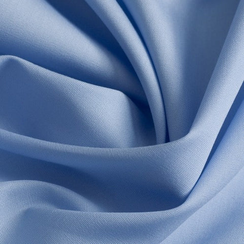 Madeleine Light Blue Poplin - Only 1.75 m Left!