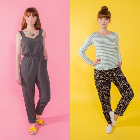 Tilly and the Buttons Marigold Jumpsuit and Trousers