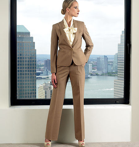 Vogue 1325 Anne Klein Jacket, Blouse and Trousers