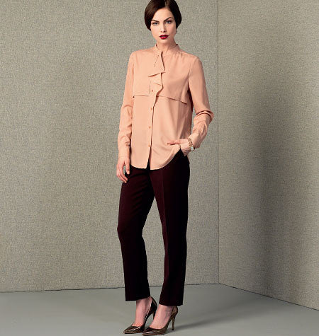 Vogue 1414 Anne Klein Top and Trousers