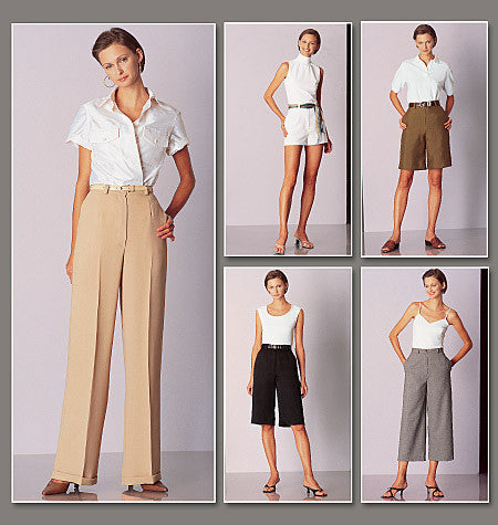 Vogue 2532 Trousers and Shorts