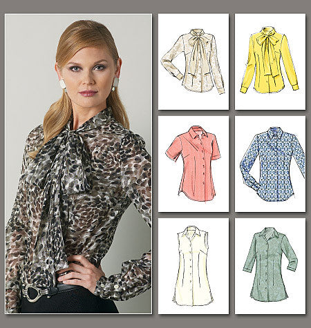 Vogue 8772 Shirts and Blouses