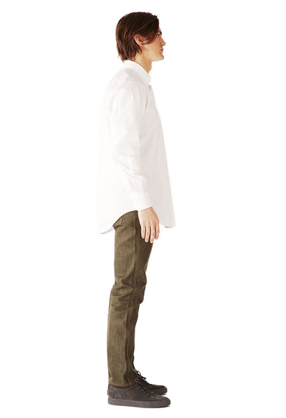 CASUAL SHIRT ULTRA SOFT OXFORD WHITE