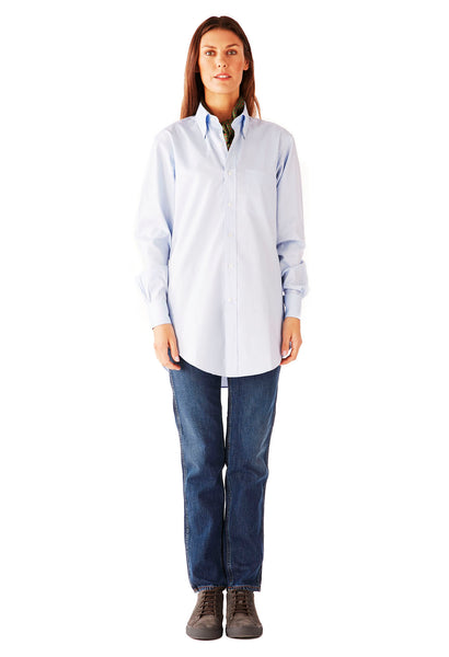 CASUAL SHIRT ULTRA SOFT OXFORD OFFICE BLUE