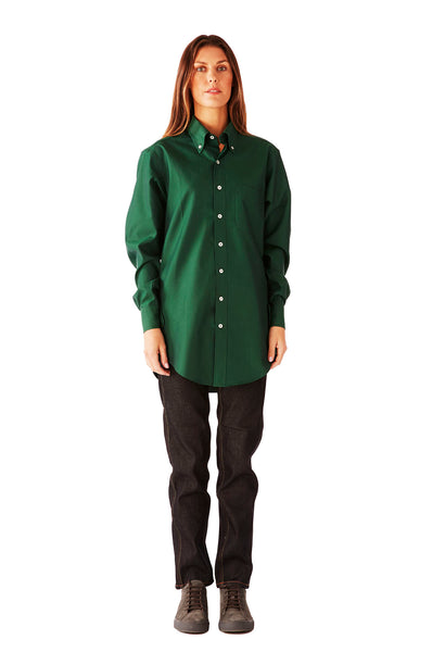 CASUAL SHIRT ULTRA SOFT OXFORD GREEN