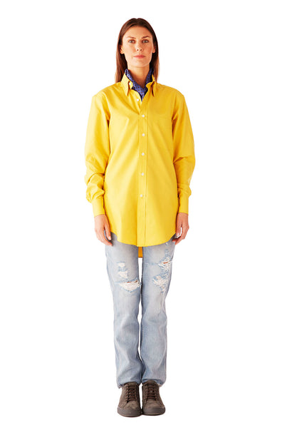 CASUAL SHIRT ULTRA SOFT OXFORD YELLOW