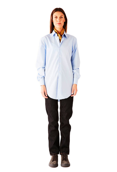EVERYDAY SHIRT SUPERFINE POPLIN OFFICE BLUE