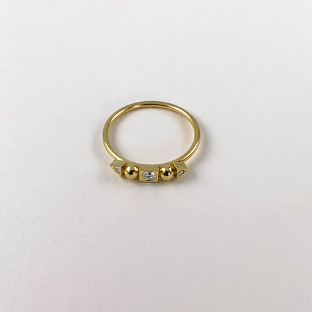 Building Blocks Diamant Ring