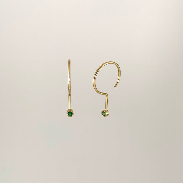 Oh so delicate • Gold • Tsavorite