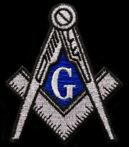 Masonic Silver Patch 12 Inch