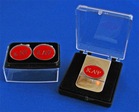 Kappa Oval Cuff Links