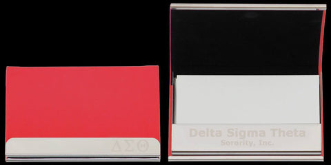 Delta Curved Business Card Case