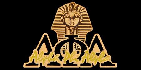 Alpha Signature Sphinx Lapel Pin